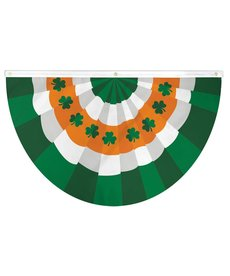 St. Patrick's Day Bunting Flag 5x3ft Poly
