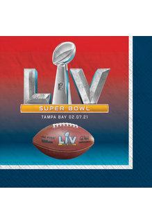 Beverage Napkins: Super Bowl LV (16pk.)