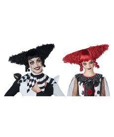 California Costumes Women's Creepy Clown Wig