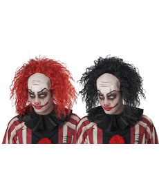 California Costumes Men's Clown Pattern Baldness Wig