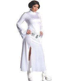 Rubies Costumes Women's Plus Size Princess Leia Costume