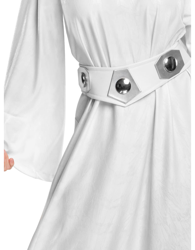 Rubies Costumes Women's Hooded Princess Leia Costume: Star Wars Saga