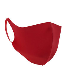 Fashion Cloth Face Mask: Red