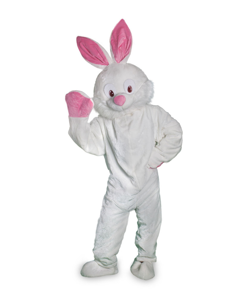Adult Short Hair Mascot Bunny Costume