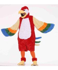 Adult Mascot Plush Parrot: Standard