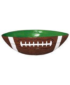"Amscan Large Serving Bowl: Football (12.5""x10"")"