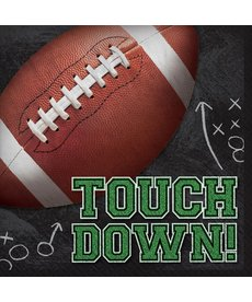 Luncheon Football Napkins: Tailgates & Touchdowns
