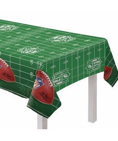 Plastic Table Cover: NFL Drive