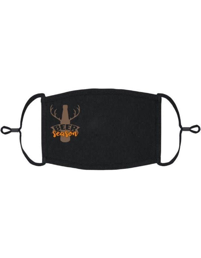 Adjustable Fabric Face Mask: Beer Season (1 pk.)