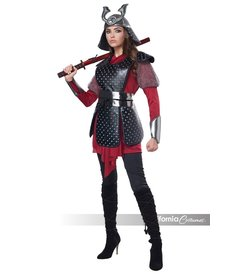 California Costumes Women's Samurai Warrior Costume