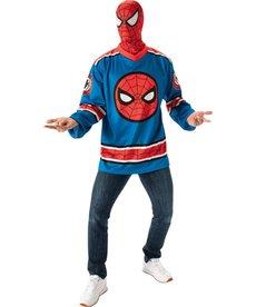 Rubies Costumes Men's Spider-Man Hockey Jersey