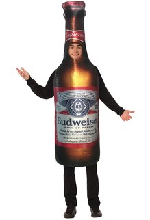 Anheuser-Busch Budweiser Bottle Beer Costume