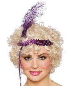 Dream Girl Flapper Wig: Blonde