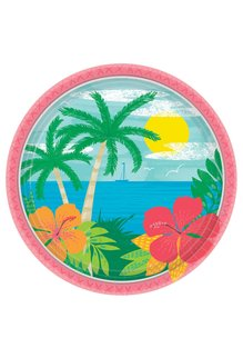 """9"""" Plates: Summer Vibes (60ct.)"""