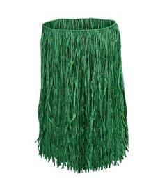 Adult Green Grass Raffia Hula Skirt