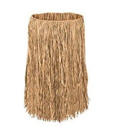 Adult XL Natural Tan Grass Raffia Hula Skirt