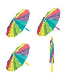 Paper Umbrella Decorations (3pk.)