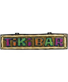 Amscan Tiki Bar Vac Form Sign