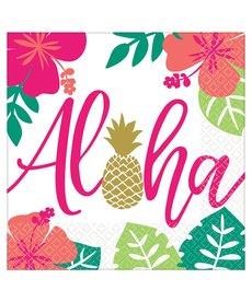 Luncheon Napkins: Aloha (16ct.)