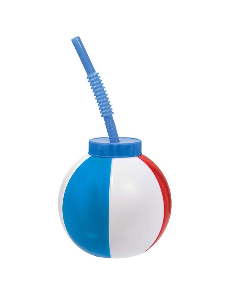 19.5 oz. Beach Ball Sippy Cup