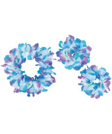 Amscan Hawaiian Leis Cool Serendipity Accessory Pack: Blue