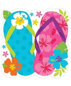 """15"""" Flip Flop Summer Cutout"""