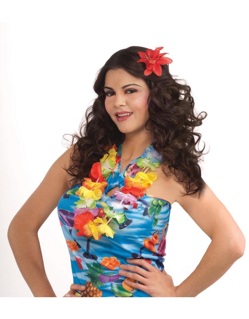 Silk Hawaiian Flower Lei