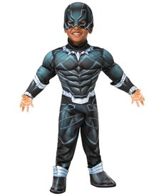 Rubies Costumes Toddler Deluxe Black Panther Costume