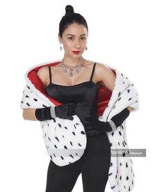 California Costumes Faux Dalmatian Stole