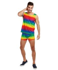 Dream Girl Men's Pride Rainbow Costume