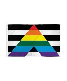 Gay Straight Alliance Pride Flag (3x5FT)
