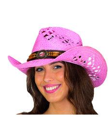 Toyo Western Cowboy Hat: Pink