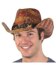 USA Flag Western Cowboy Hat