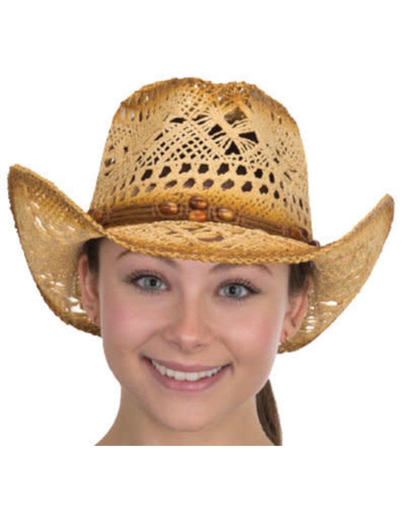 Antique TOYO Western Cowboy Hat: Tan