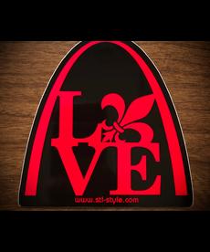 Sticker - STL Love Arch