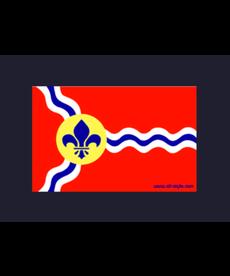 Sticker - STL Flag