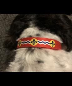 STL Flag Adjustable Dog Collar