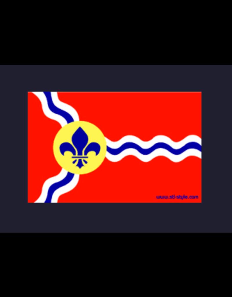 STL City Flag Magnet