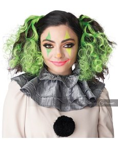 California Costumes Glow In The Dark Curly Hair Clips: Green