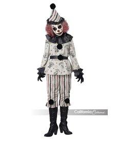 California Costumes Women's Vintage Creeper Clown