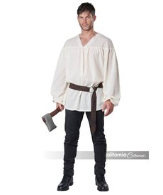 California Costumes Men's Renaissance Peasant Shirt: Cream