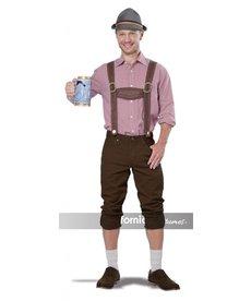 California Costumes Lederhosen Kit - Brown