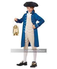 California Costumes Kids Paul Revere Costume