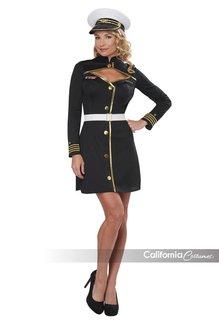 California Costumes Women's Navy Captain Costume