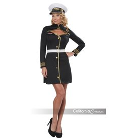 California Costumes Adult Navy Captain Costume