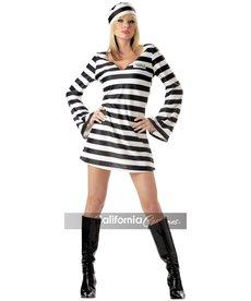 California Costumes Women's Convict Chick