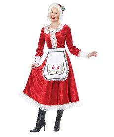 California Costumes Women's Classic Mrs. Claus