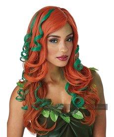 California Costumes Women's Root of All Evil Wig: Auburn/Green