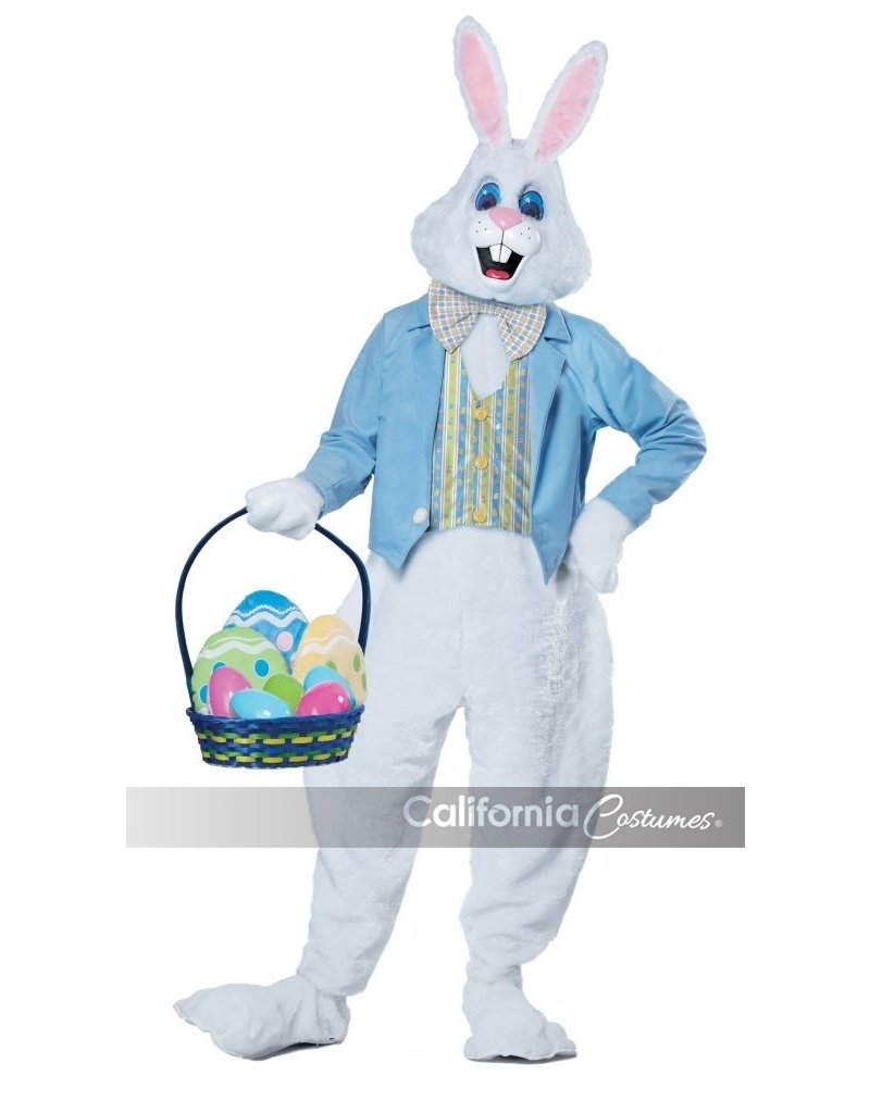 California Costumes Adult Deluxe Easter Bunny Mascot Costume