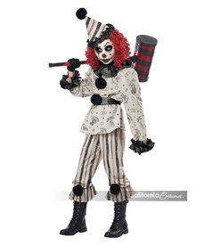 California Costumes Girl's Creeper Clown